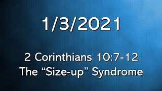 2 Corinthians 10:7-12