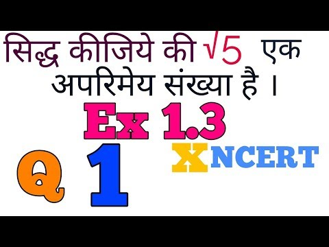 Ex 1.3 Real Number (Q.1) class 10 NCERT Maths solution in Hindi