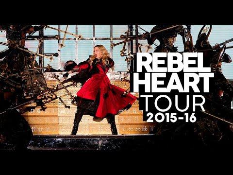 REBEL HEART TOUR -16  Turnês da Madonna