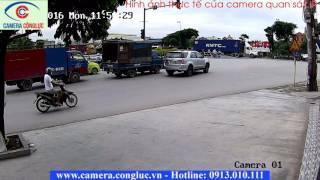 Video thực tế camera quan sat Hikvision IP 2.0MP
