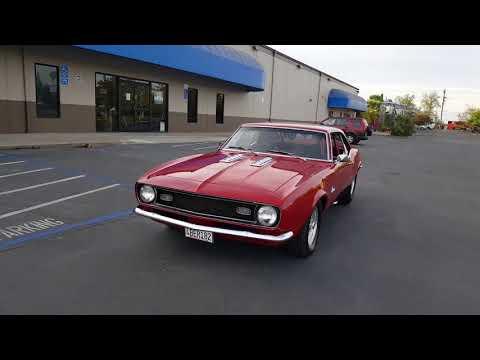 1968 Pro Street Camaro, 496 big block  600+HP, turbo 400 transmission, built 12-bolt posi rear end