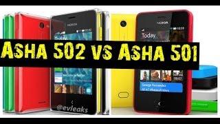 Nokia Asha 502 vs Asha 501 [Spec Comparison]