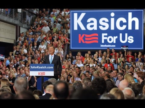 John Kasich Kicks Off a Campaign for Us