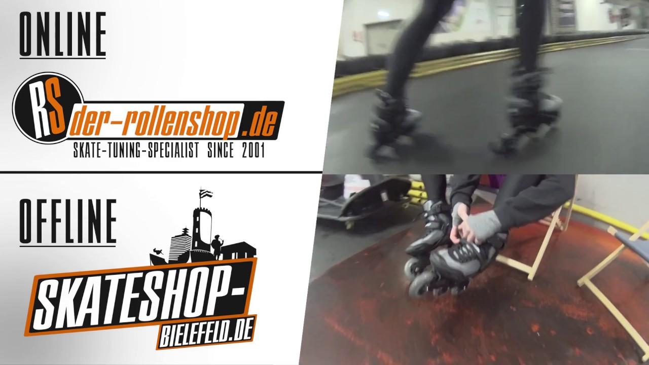 50180a876bf Inline Skate Test Powerslide Krypton 100 - YouTube
