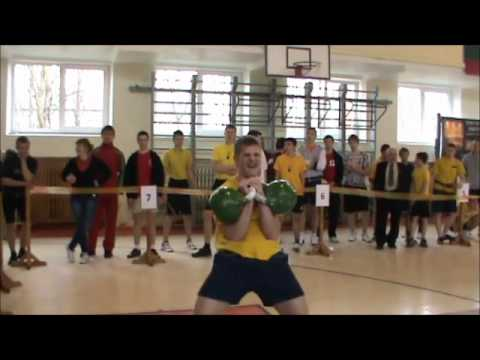 Lithuania Kettlebell lifting - 32, 24, 16 kg.