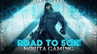   Nobita Gaming Live  DAY 281 Ace Pe Jaaneki NaKamYab Koshish😂😂 ...Road To 50k......❤️❤️