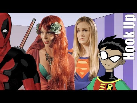 Cartoon Hook-Ups: Supergirl and Poison Ivy LIVE