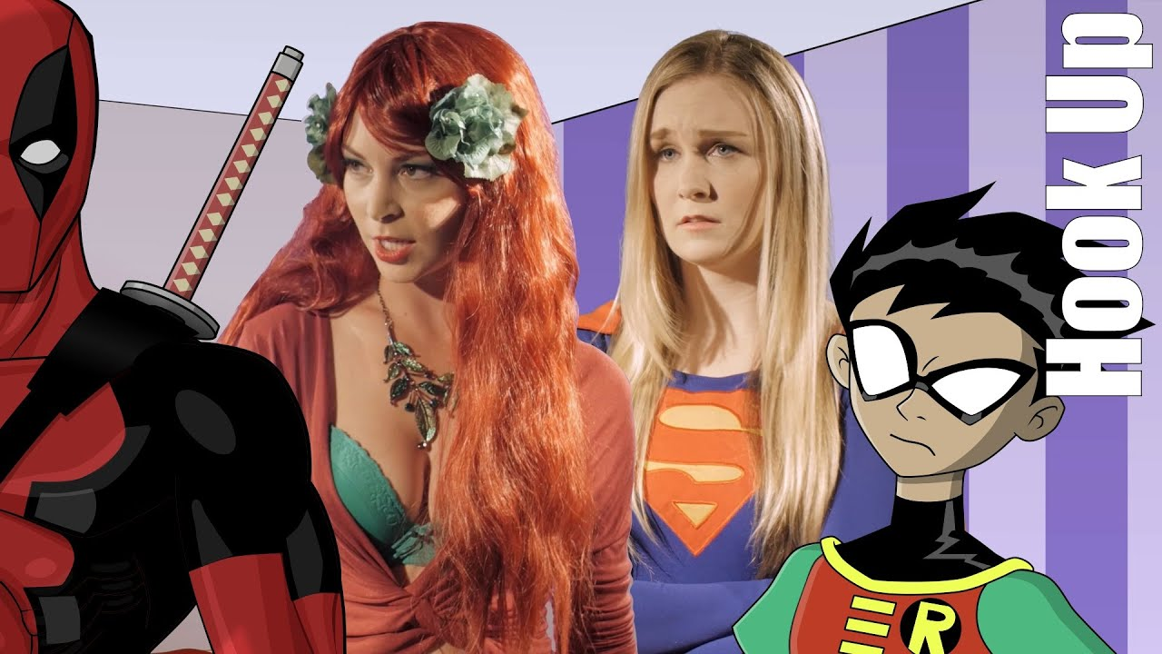 Cartoon Hook Ups Supergirl And Poison Ivy Live Youtube