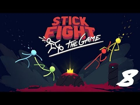 """The FGN Crew Plays: STICK FIGHT THE GAME #8 """"Stick Around"""""""