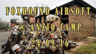Footage from the days game @ Anzio Camp First and Only Airsoft http...