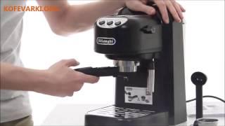 Видео обзор кофеварки Delonghi EC 250 B