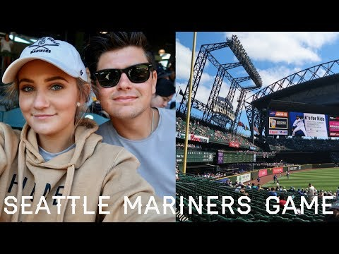 SEATTLE MARINERS GAME // VLOG