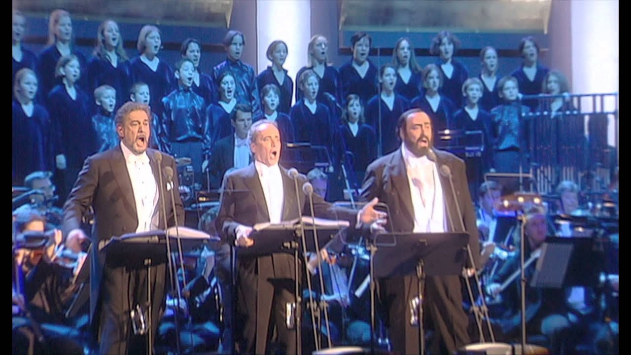 The Three Tenors Christmas Concert IN CINEMA - YouTube