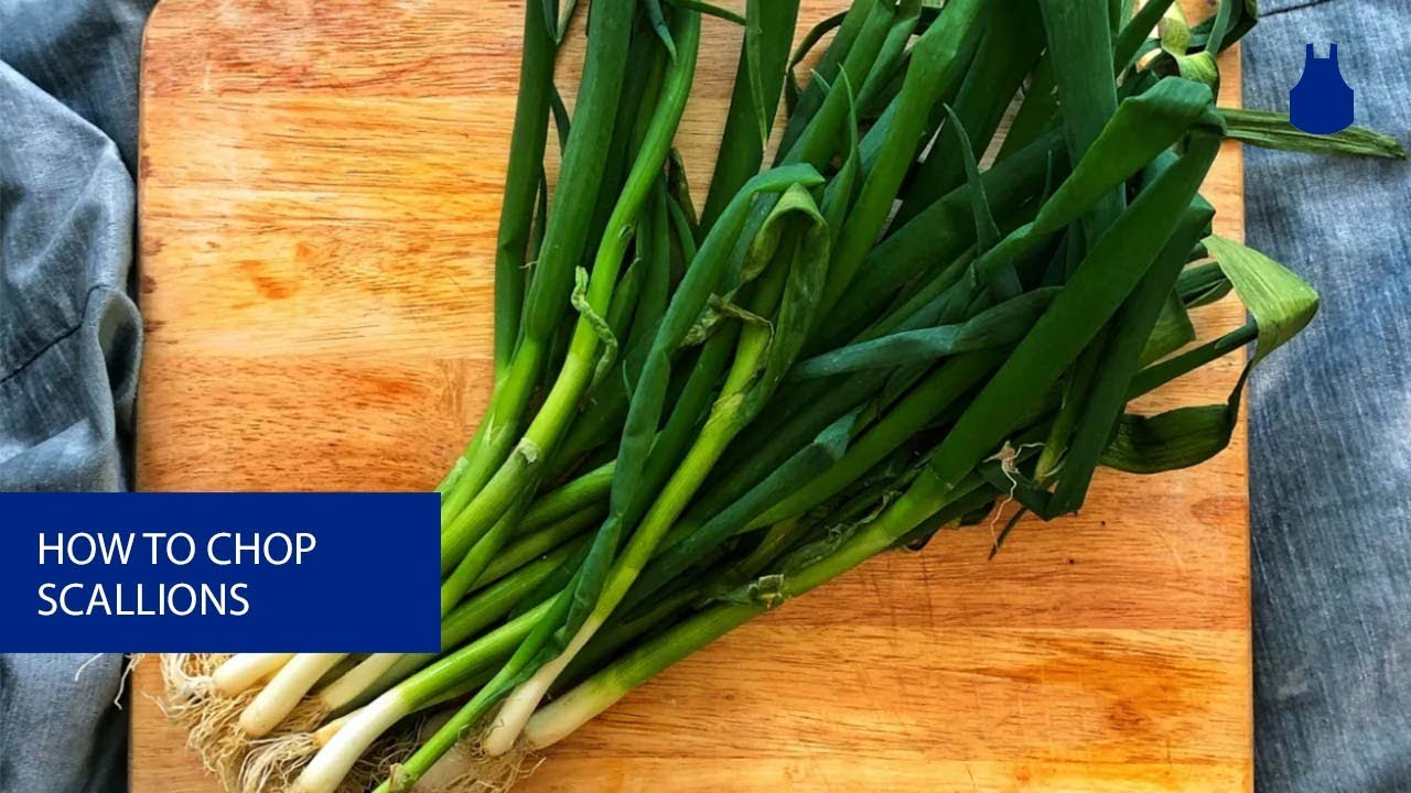 How to Chop Scallions