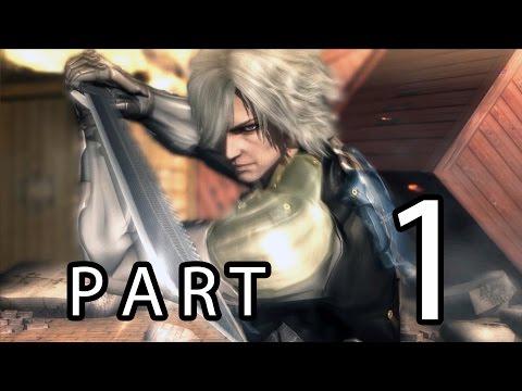 Metal Gear Rising Revengeance FILE-R 00 Guard Duty Part 1 Gameplay (PC) [HD]