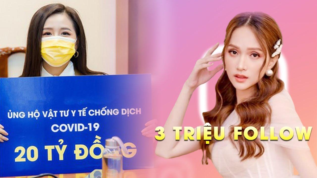 Điểm tin Hoa hậu: Hương Giang XUẤT SẮC đạt 3 triệu follow, Mai Phương Thúy nguyên góp 20 tỷ đồng!