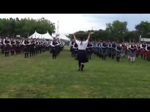 Antigonish Highland Games Piping Bands