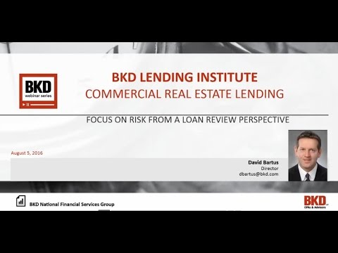 BKD Lending Institute - Commercial Real Estate Lending