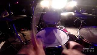 Converge Concubine and Dark Horse Live GoPro drum cam Ben Koller