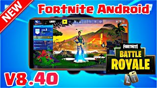Fortnite Android V8.40 Mod APK Working | GPU/VPN Error Fix | Download Link in Description |