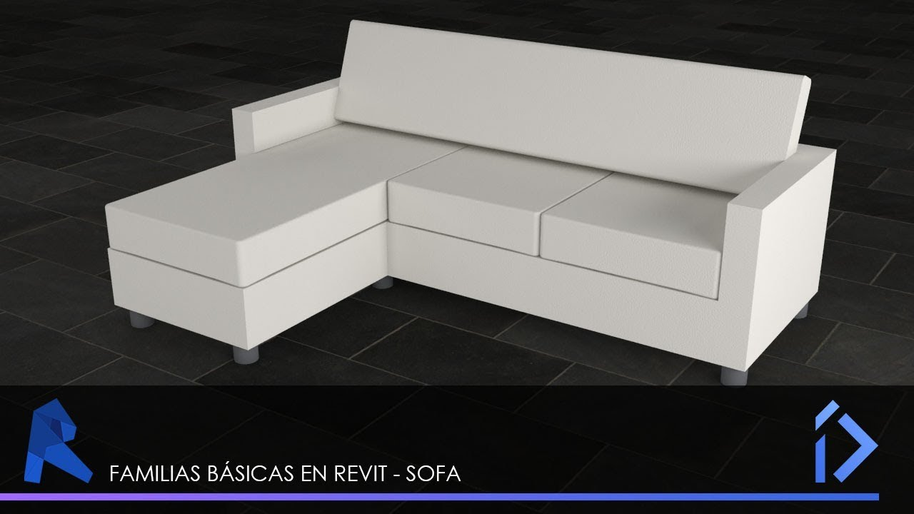Revit Familias B 225 Sicas Sofa Youtube