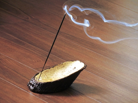 How to make incense burner / holder