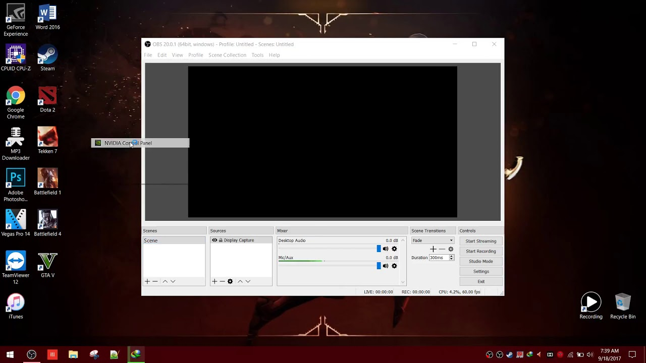 [HOW TO]Fix Black Screen Display Capture on Nvidia Graphics Card