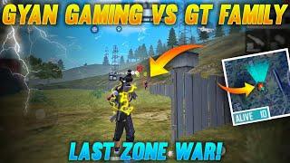 Gyan Gaming Vs GT Family Last Zone War || Tamil Free Fire Tricks