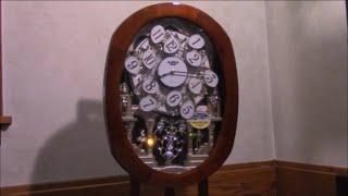 RHYTHM Grand Encore Legend Clock - 4MH834WB06 (リズムスモールワールドからくり時計)