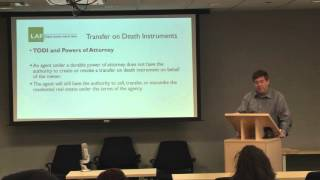 Transfer on Death Instruments (