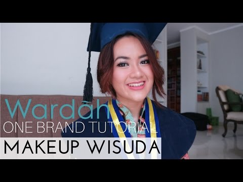 MAKEUP WISUDA / GRADUATION ON ACNE FACE - One Brand Wardah Tutorial (100% Produk Lokal Indonesia)