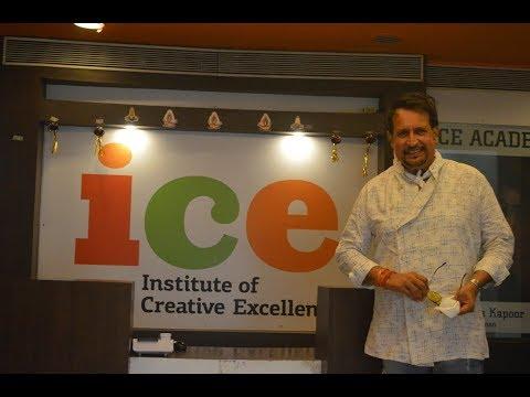 Kiran Kumar - Celebrity guest session @ ICE, Mumbai