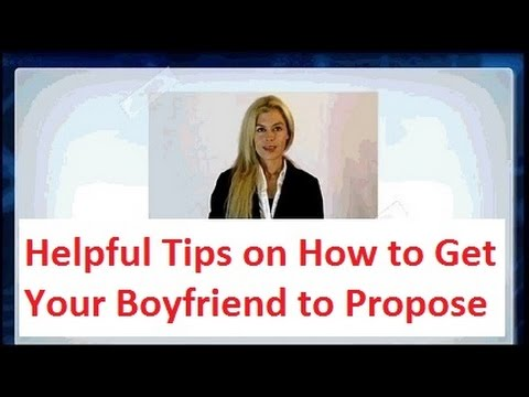 Get Boyfriend To Propose Fast Without Being Obvious Youtube