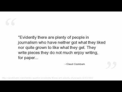 Claud Cockburn Quotes