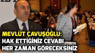 Reaction from Mevlüt Çavuşoğlu to the events of 1915 in French parliamentarians