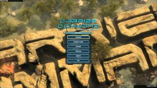 Carrier Command Gaea Mission Menu Theme [HD] 720P