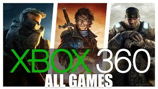 All Xbox 360 Games In One Video
