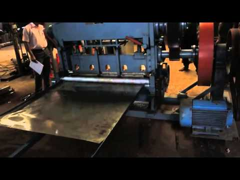 Automatic Perforated Sheet Making Machine By Bengal Wire