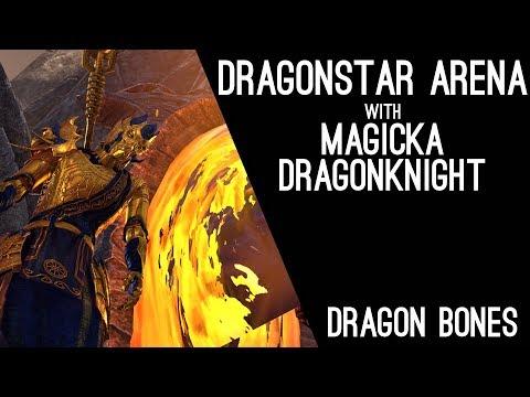 Dragonstar Arena vet with Magicka Dragonknight! Dragon Bones DLC Elder Scrolls Online ESO
