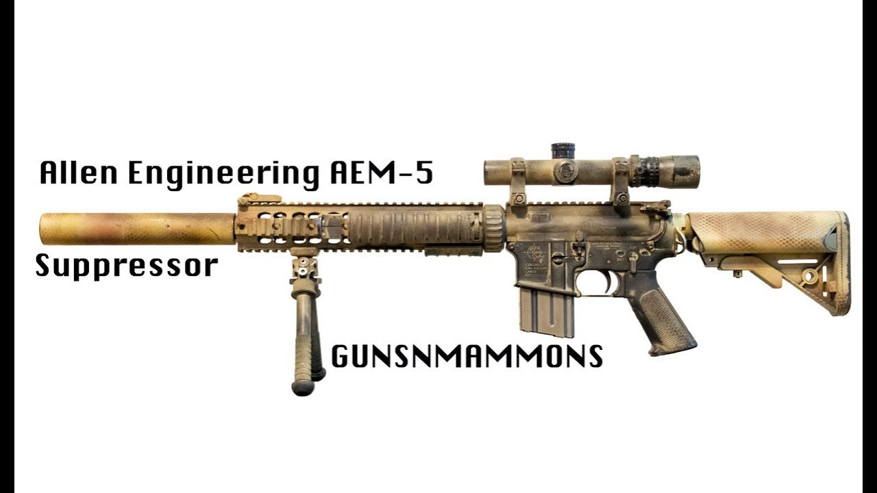 Download Allen Engineering AEM-5 Suppressor Review
