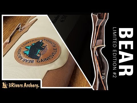 Unboxing The Bear Archery Limited Edition Takedown Recurve 2 Of 4 Series