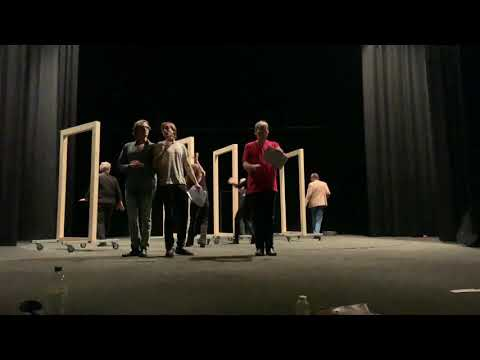 Репетиция спектакля «Ревизор». Фрагменты