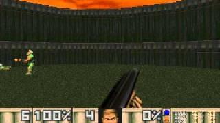 Original Dos Doom 2 - Dwango 5 MAP01 DeathMatch (IPX)