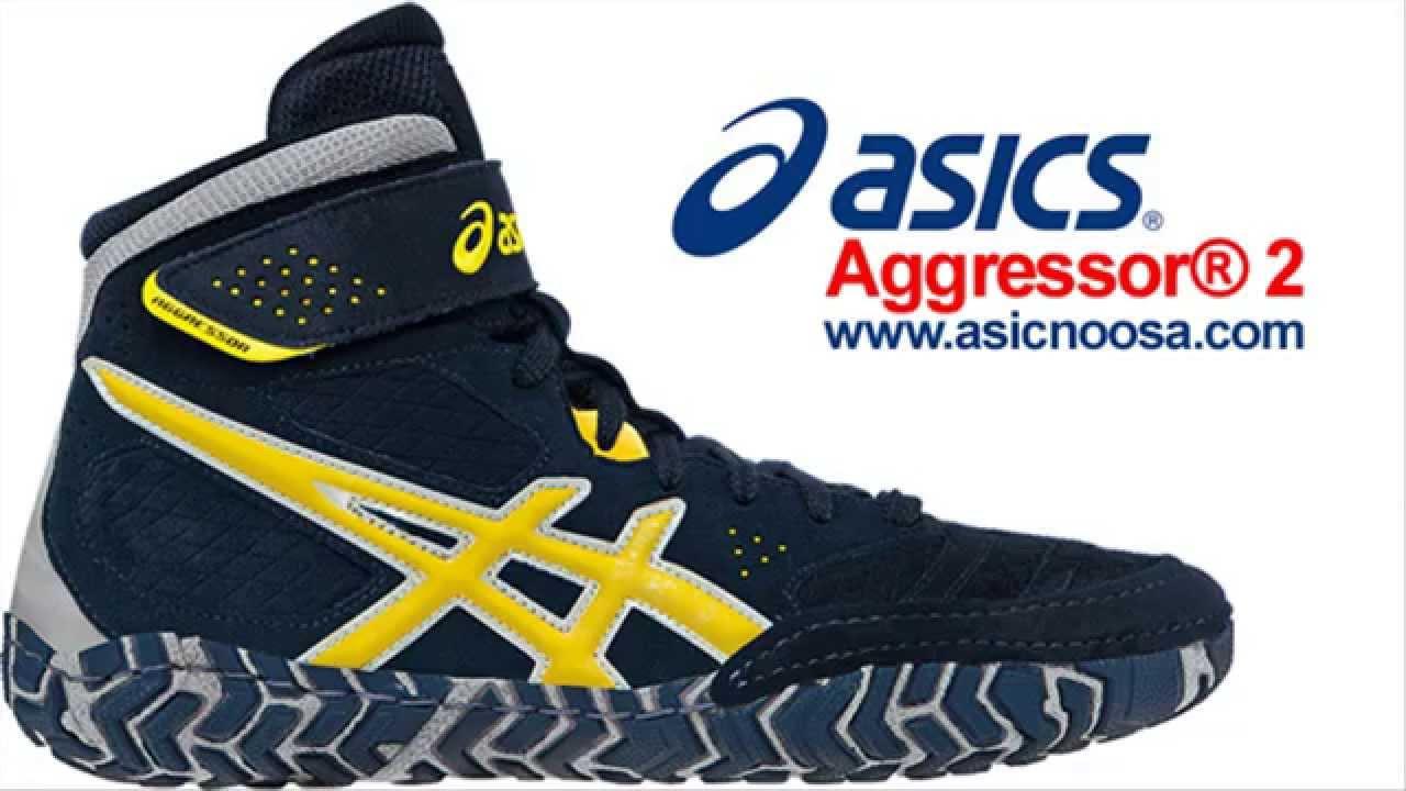 asics aggressor men's wrestling shoes