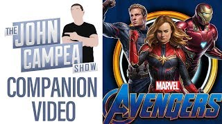 Why Getting Avengers Endgame Tickets For Opening Weekend Is Harder Than Ever - TJCS Companion Video
