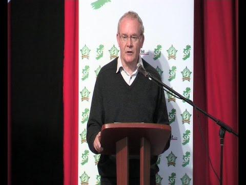 Major speech by Martin McGuinness at Sinn Féin 'think In'