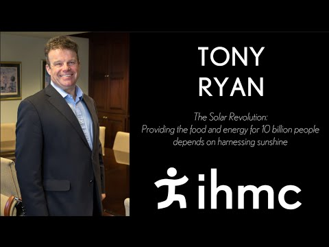 Tony Ryan:  The Solar Revolution