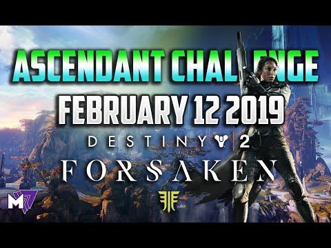 Ascendant Challenge Solo Guide February 12 2019 | Destiny 2 Forsaken | Taken Eggs & Lore Locations thumbnail