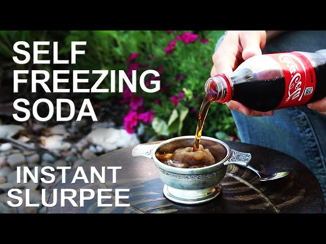 how to turn a bottle of soda into a slushy drink simplemost
