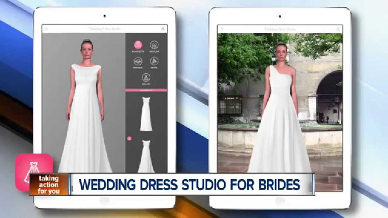 Wedding Dress Studio, the iPad app for brides-to-be - YouTube